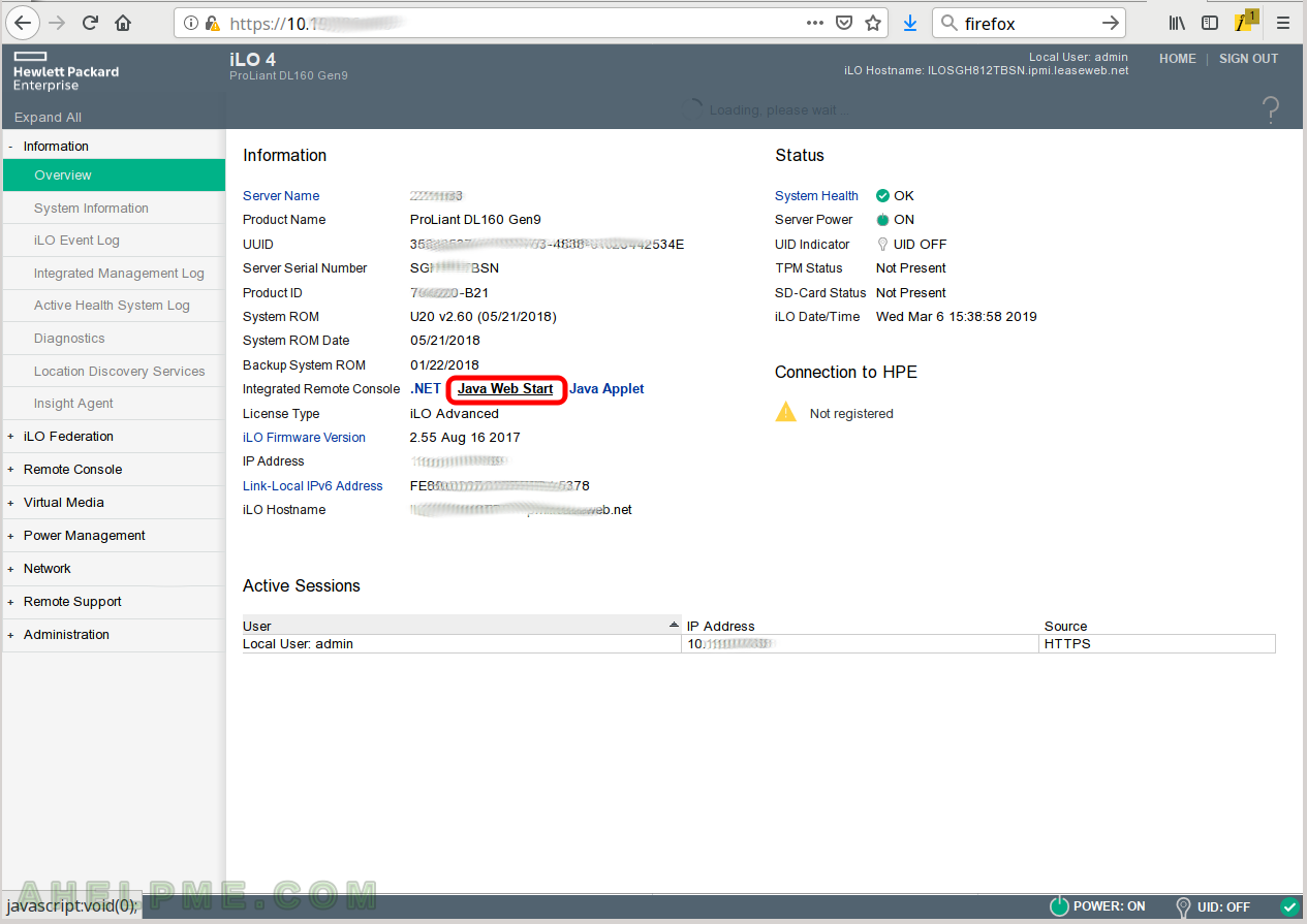 Review of Smart Array P440 on a server HP ProLiant DL160