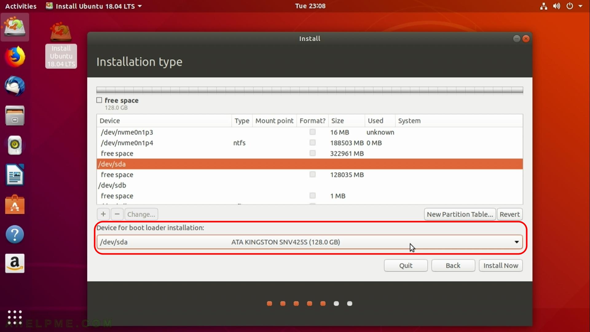 install grub2 ubuntu 18.04