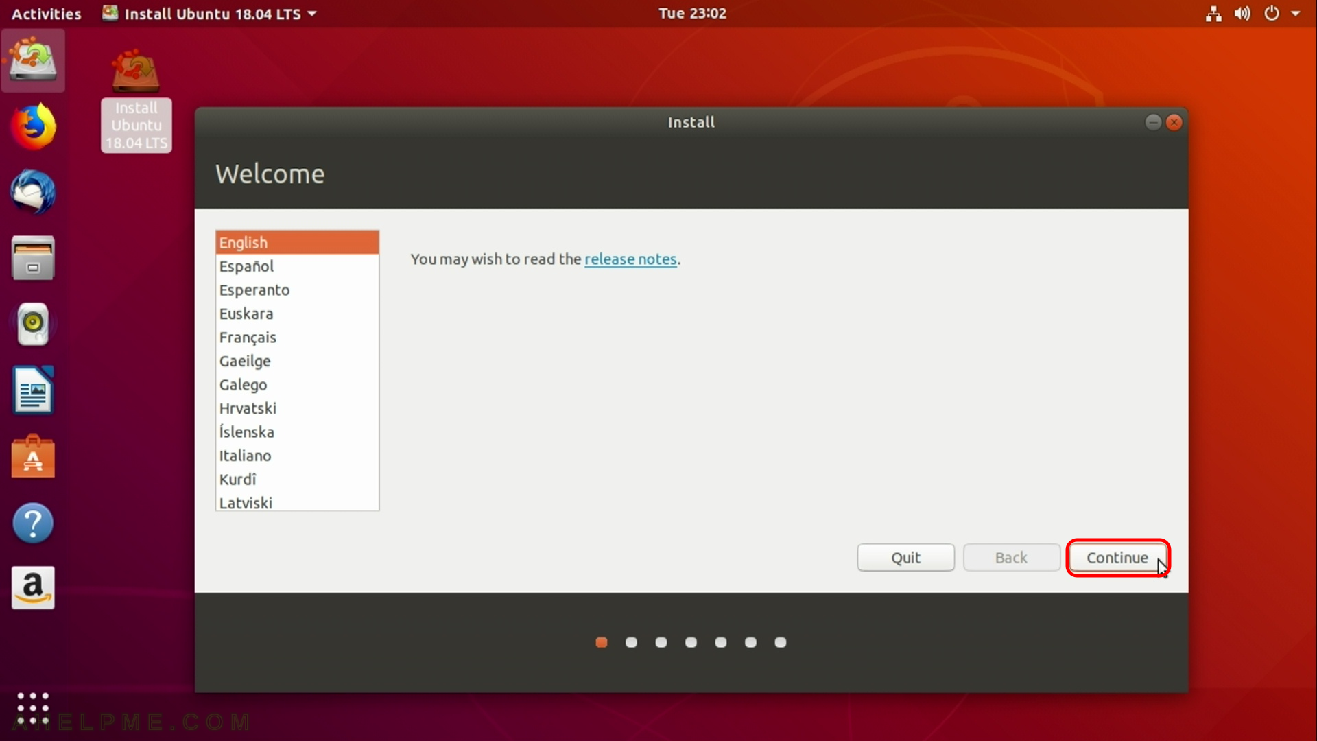 Install Ubuntu Desktop 18 04 LTS on a PC with existing