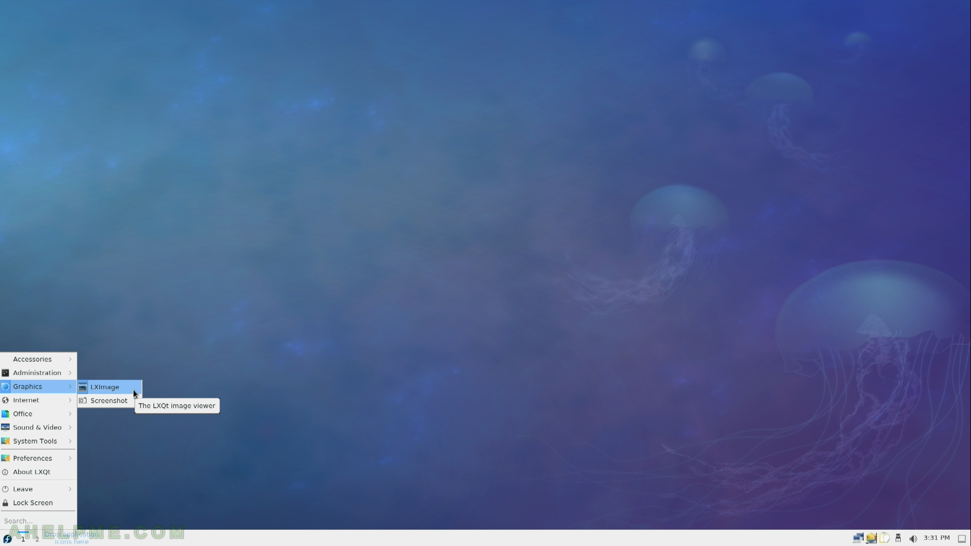 Review of freshly installed Fedora 27 LXQt Desktop   Any IT