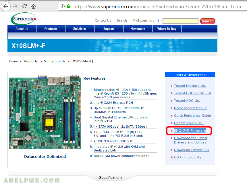Update Supermicro BMC/IPMI Firmware – under Linux console